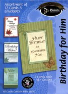 Boxed Cards Birthday For Him: Masculine Box