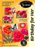 Boxed Cards Birthday For Her: Flowers & Butterflies Box