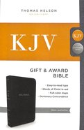 KJV Gift and Award Bible Black (Red Letter Edition)