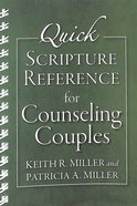 Quick Scripture Reference For Counseling Couples Spiral