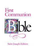 Nab St Joseph First Communion Bible (Girls) Flexi Back