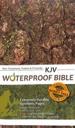 KJV Waterproof New Testament With Psalms and Proverbs Camo
