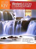 KJV Standard Lesson Commentary 2017-2018 Large Print Edition Paperback