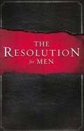 The Resolution For Men Paperback