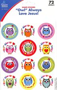 "Sticker Pack: ""Owl"" Always Love Jesus! Novelty"