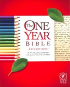 NLT One Year Bible Reflections Edition (Black Letter Edition)