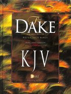 KJV Dake's Annotated 3 Column Reference Bible Hardback