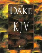 KJV Dake's Annotated 3 Column Reference Bible Black Bonded Leather