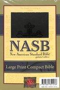 NASB Large Print Compact Black