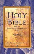 NRSV Holy Bible With the Apocryphal Deuterocanonical Books Black Letter Paperback