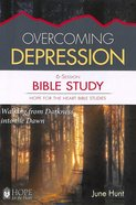 Overcoming Depression Bible Study (#4 in Hope For The Heart Bible Study Series) Paperback