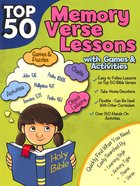 Top 50 Memory Verses With Games and Activities (Rosekidz Top 50 Series) Paperback