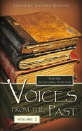 Voices From the Past (Vol 2) Hardback
