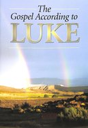 KJV Gospel According to Luke (Black Letter Edition) Paperback
