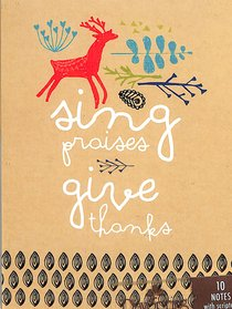 Trend Notes: Amylee Weeks - Sing Praise Give Thanks (Psalms 106:1 Niv)
