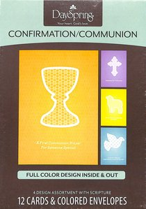 Boxed Cards: Confirmation/Communion