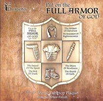 Tabletop Plaque: Full Armor of God
