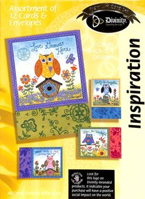 Boxed Cards Inspiration: Owls