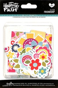 Friendship (Illustrated Faith Die Cut Prompts Series)