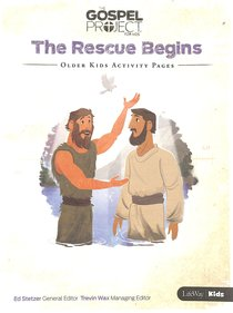 Gpfk 2015-18 #07: The Rescue Begins (Older Kids Activity Pages)