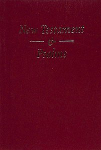 KJV Pocket New Testament and Psalms Red Vinyl