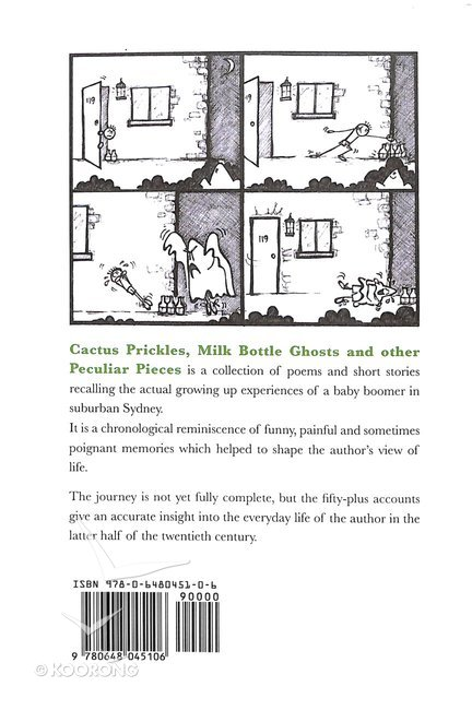 Buy Cactus Prickles Milk Bottle Ghosts Other Peculiar Pieces By