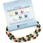 Bracelet: Salvation (Frosted Beads)
