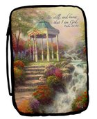 Bible Cover Thomas Kinkade Xlarge Sweetheart Gazebo Bible Cover