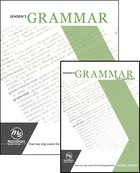 Jensen's Grammar Set: Your One Stop Source For Learning Grammar (Book & Dvd) Pack