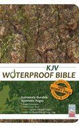 KJV Waterproof Bible Bark/Camouflage