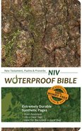 NIV Waterproof New Testament Psalms and Proverbs Camo (Black Letter Edition)