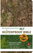 NLT Waterproof Bible New Testament Psalms and Proverbs Bark/Camo (Black Letter Edition) Waterproof
