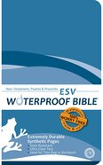 ESV Waterproof Bible New Testament Psalms and Proverbs Blue (Black Letter Edition) Waterproof