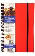 Tuffnotes Waterproof Notebook, Orange, Blank Spiral