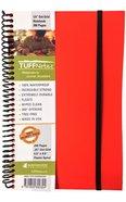 Tuffnotes Waterproof Notebook, Orange, Dot Grid Spiral