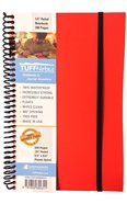 Tuffnotes Waterproof Notebook, Orange, Ruled Spiral