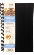 Tuffnotes Waterproof Notebook, Black, Ruled