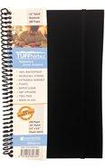 Tuffnotes Waterproof Notebook, Black, Ruled Spiral