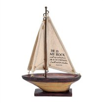Sailboat: He is My Rock and My Salvation (Psalm 62:6)