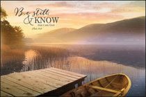 Mounted Print: Be Still & Know That I Am God