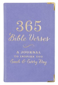 365 Bible Verses: A Journal to Inspire You Each & Every Day, Lavender