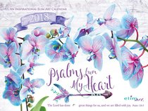 2018 Wall Calendar: Psalms From My Heart