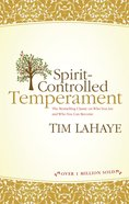 Spirit-Controlled Temperament Paperback