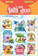 God's Care (6 Sheets, 54 Stickers) (Stickers Faith That Sticks Series) Stickers