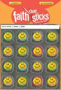 Smile! (6 Sheets, 96 Stickers) (Stickers Faith That Sticks Series) Stickers