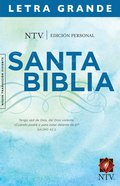 Ntv Edicion Personal Letra Grande (Red Letter Edition) (Personal Size Large Print Edition) Hardback