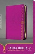 Ntv Santa Biblia Zipper Edition Fuchsia (Black Letter Edition) Imitation Leather