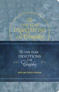 The One Year Devotions For Couples Imitation Leather
