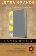Ntv Santa Biblia Edicion Compacta Letra Grande Gray/Yellow (Red Letter Edition) Imitation Leather