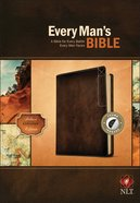 NLT Every Man's Bible Deluxe Explorer Edition Brown Indexed (Black Letter Edition)